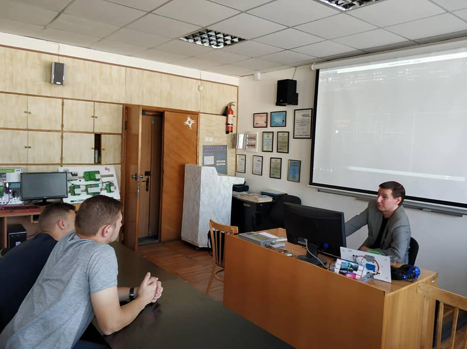 "Семінар клубу ""Industrial Automation in practice case"" кафедри ПЕЕА"
