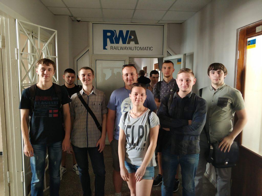 Кафедра ПЕЕА продовжує роботу по профорієнтації студентів. Відбулася зустріч з співробітниками компанії RWA Automatiс