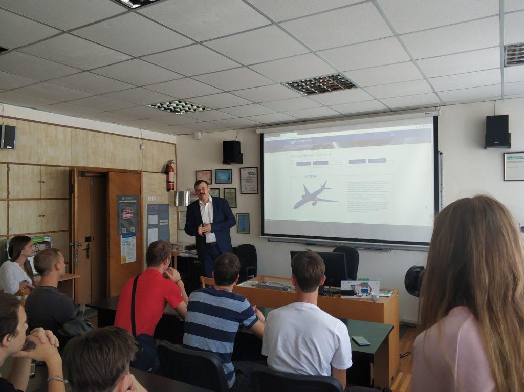 Кафедру ПЕЕА відвідали представники компанії Прогресстех-Україна.