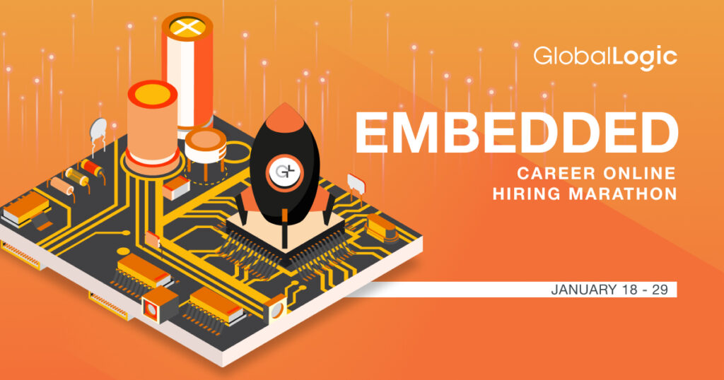 Embedded Online Career Marathon пройде з 18 по 29 січня 2021 року