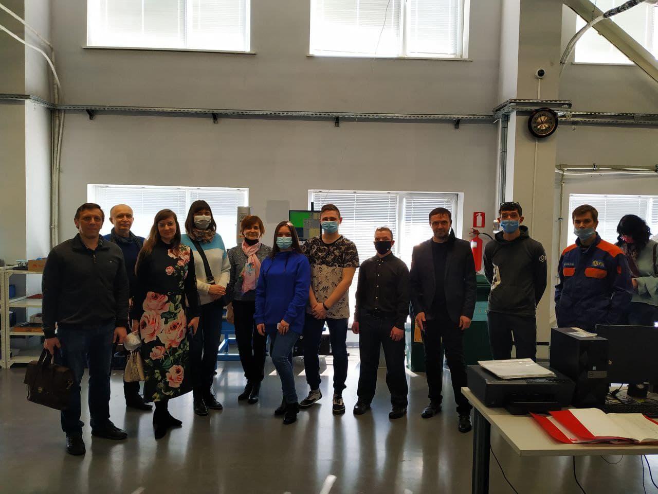 Студенти та викладачі відвідали компанію FED
